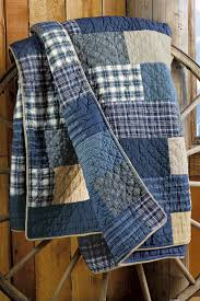 Best 25+ Denim quilts ideas on Pinterest   Denim quilt patterns ... & Use the boys' old jeans, shirts, and pjs to make a weathered quilt like  this.: - Ideas In Crafting Adamdwight.com