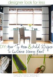 diy tutorial on how to hem a window curtain panel and how to add