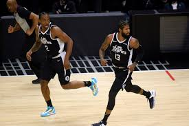 Clippers coach ty lue mentioned that kawhi leonard will likely get more time defending luka doncic tonight in game 2. Clippers Vs Mavericks How Do Kawhi Leonard And Paul George Perform After Game 1 Playoff Losses Draftkings Nation