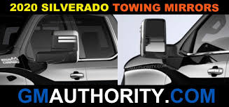 2020 silverado 1500 towing mirrors