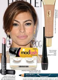 copy eva mendes sultry sixties makeup