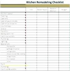 Related Post Remodel Schedule Template Residential Project