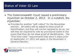 Video - Online Pennsylvania's Law Voter Download Id Ppt