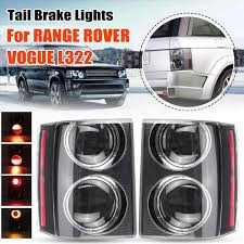 L322 Brake Light Switch Us 115 9 39 Off Led Tail Light For Range Rover Vogue L322 2002 2009 Taillight Rear Reverse Brake Fog Lamp Accessories Turn Signal Bulb Smoke In Car