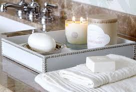 Decorative Bathroom Tray Smart Bathroom Organization Saybrook Homes Blog 5