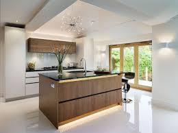kitchen led strip lighting. Modern Kitchen With LED Strip Lights Led Lighting D
