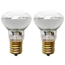 R39 E17 Replacement Light Bulb Motion 30 Watt Lamp Reflector Type 2 Pack