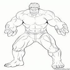 Disegni Da Colorare E Stampare Gratis Hulk Fredrotgans