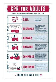 Free Printable Cpr Chart Cpr Chart By Kelsey Collins Via Behance First Aid Cpr