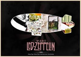 Image result for Led zeppelin poster
