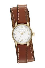 burberrywomen s utilitarian swiss quartz wrap watch 30mm