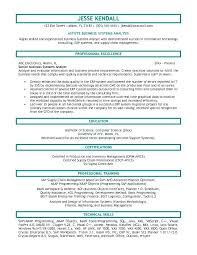 Sample Resume For Business Analyst Best Business Analyst Resume Template Business Analyst Resume Sample