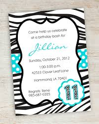 free printable birthday party invitations for girls free printable zebra party invitations printable pink turquoise