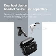 Shop <b>LENOVO</b> LivePods <b>LP1S</b> TWS Bluetooth Earphone Sports ...
