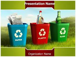 Recycling Powerpoint Template Background