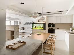 Home Designs: Open Modern Kitchen - Apartment
