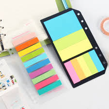 memo pads promotion shop for promotional memo pads on classic portable memo pad set stationery colorful office school index tape paper post it for planner spiral notebook