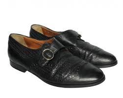 bostonian black leather shoes uk 8
