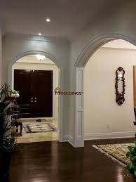 Arched Crown Moulding Entryway Arches Design Coffered And Waffle Ceilings Pinterest
