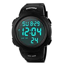 <b>Mens Digital Sports Watch</b>, Males Waterproof <b>Electronic</b> Military ...