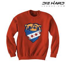 Chicago Rumors Sweatshirt - Bears Crewneck Orange