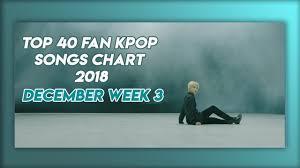 Top 40 Kpop Songs Chart December Of 2018 Week 3