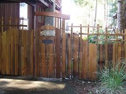 handsplit cedar entry gate