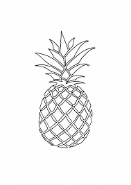 pineapple drawing. full size of coloring page:impressive drawing a pineapple art page large t