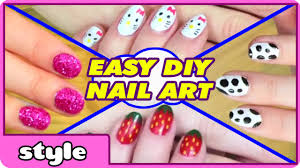 Art Designs Diy Nail Art Without Any Tools Top 10 Nail Art Designs Easy