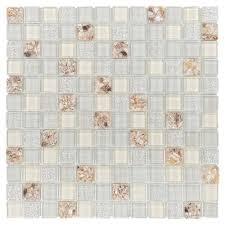 pearl mosaico kitchen crystal glass mosaic tiles