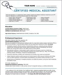 Medical Assistant Resumes Samples | Sample Resume Letters Job ...