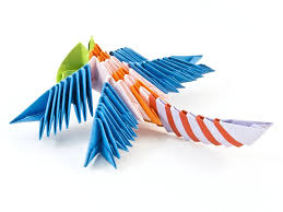 Fun with Origami     Easy to Do Projects and    Sheets of Origami     Pinterest DIY  origami birds  W MKE   Start each day like it s your