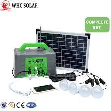 Solar Home Light Set Hot Item Multifunctional 10w Solar Home Lighting Kit Small Rechargeable