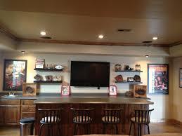 Baseball Themed Basement Wet Bar Home Ideas Pinterest - Simple basement wet bar