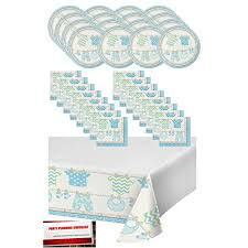 Baby Shower Decoration Checklist Baby Shower Supplies For Boy Amazon Com