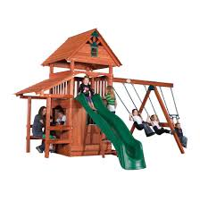 backyard discovery accessories back yard adventures custom built wooden swing sets