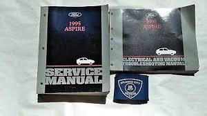 1995 ford aspire service repair manual 0 99 picclick 1995 ford aspire service shop repair manual set w electrical wiring diagrams