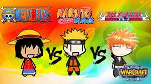 Bleach vs Naruto vs One Piece (Warcraft 3) - YouTube