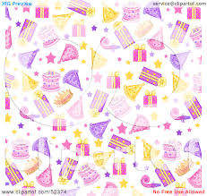 Free Birthday Backgrounds Birthday Clipart Background