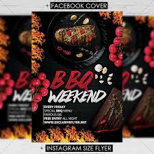 Bbq Weekend Premium A5 Flyer Template