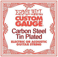 Ernie Ball Tension Chart Ernie Ball 1012 Tin Plated Carbon Steel 012 Single Guitar String