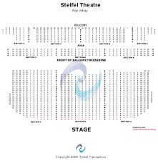 Stifel Theatre Seating Chart Stiefel Theatre For The Performing Arts Seating Chart