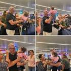 Kochie`s emotional airport reunion