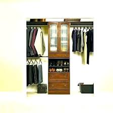 systembuild closet organizer corner unit hanging home depot s