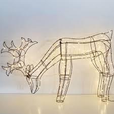 Reindeer Silhouette Lights Ip44 Outdoor Christmas 3d Reindeer Silhouette Lights With Micro Wire Lights Buy 3d Reindeer Silhouette Lights Outdoor Reindeer Led 3d Reindeer