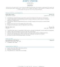 Impressive Resume Templates Impressive Resume Format Proper Resume