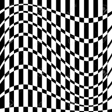 Chequered Pattern Adorable Distorted Chequered Checkered Pattern With Rectangles And Squares