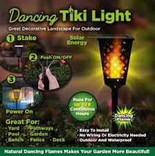 tiki lighting. As Seen On TV Dancing Tiki Light - Solar Torch Outdoor Lighting  Walmart.com Tiki Lighting S