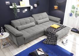 Couch Grau L Form