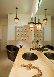 mediterranean style lighting. Sexy Style Mediterranean-bathroom Mediterranean Lighting